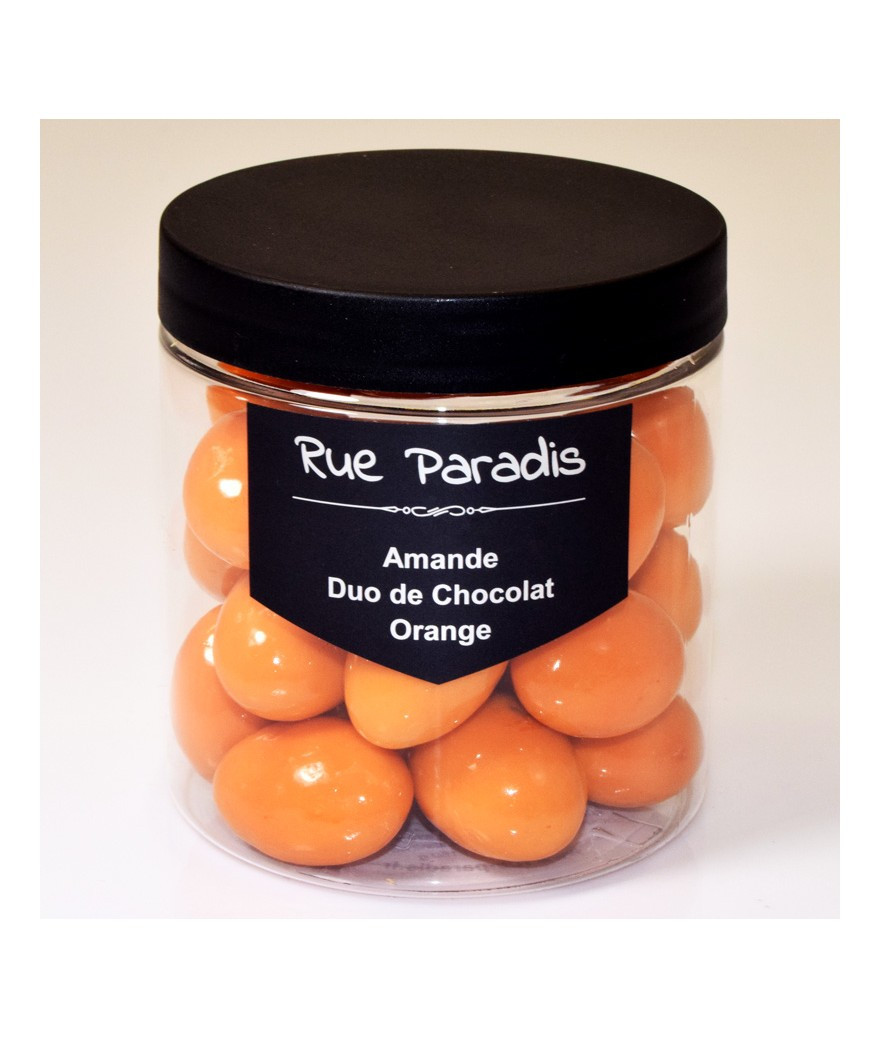 Amande Duo de Chocolat - Orange - Rue Paradis