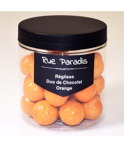 Réglisse - Duo de Chocolat - Orange - Rue Paradis